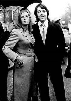 Linda Eastman McCartney And Paul Reliving Beatlemania On Xanga