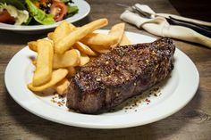 14 oz N. Strip Steak 12 oz 16 oz Perfectly aged, expertly prepared, absolutely full of flavour Strip Steak, Meat, Food, Essen, Meals, Yemek, Eten
