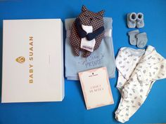 """Coffret naissance """"Le petit Marcel"""" par Baby-suaan"""