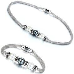 Aroncent Damen Halskette und Armband Schmuck 1 Set, Mesh ... https://www.amazon.de/dp/B01FQC5Y8Y/ref=cm_sw_r_pi_dp_PCLuxbKRD0298