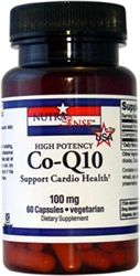 Co-Q10 - 60 V-Capsules #MadeinUSA $18.99 #health #Wellness #supplements via BuYDirectUSA.com    	  Essential for Cell, Tissue & Organ function  Co-Q10 helps to support cardiovascular health, protect cells from free radical damage, promotes energy production, supports healthy immune function, powerful antioxidant properties, helps to support healthy insulin production, and helps support healthy blood pressure, prevent oxidation of LDL cholesterol.