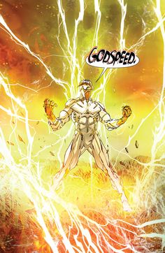 "Godspeed in The Flash #6 ""Revenge"" (2016) - Carmine Di Giandomenico, Colors: Ivan Plascencia"