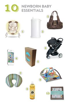 10 newborn baby essentials