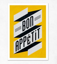 Bon appetit [via edubarba etsy shop]