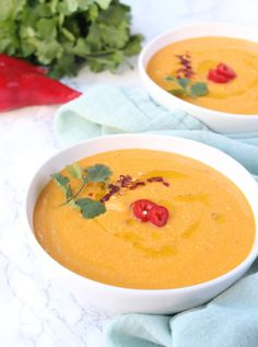 Spicy Crockpot Pumpkin Soup