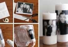 Fotografie na svíčkách – návod na originální dekoraci či dárek