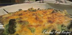 Fabulous Food Recipes: Cauliflower and Broccoli Cheese Bake