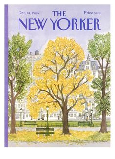 The New Yorker Cover - 1985