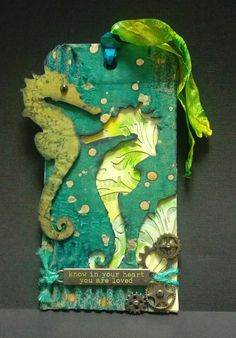 Happy Life Crafts: March 2016 Tim Holtz Tag Challenge