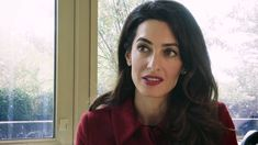 Amal Clooney tells Amnesty International why the former President of the...