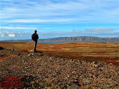 It's Earth Day. Watch over her. — at Liverpool Land to the Hurry Inslet, Greenland. @Quark Expeditions