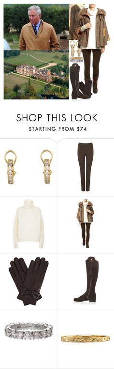 """""""Taking a walk on the estate with her father after lunch"""" by marywindsor ❤ liked on Polyvore featuring Tiffany & Co., Phase Eight, Tory Burch, Holland Cooper, Gizelle Renee and Cartier"""