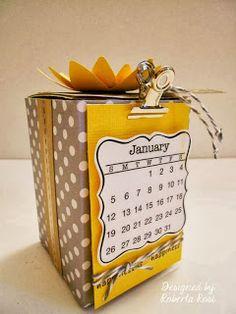 SRM Stickers: Mini Calendar by Roberta Rosi