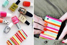 25 Inventive DIY Phone Cases via Brit + Co.