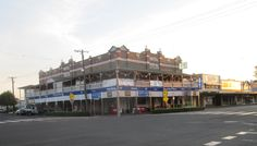 Royal Hotel, Roma, QLD, Australia. The hotel burned down just a week after this pic was taken.