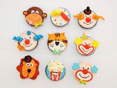 Cupcakes-Circo