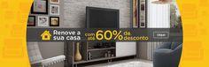 Chegou a hora de comprar  Produtos com até 60% de desconto http://www.magazinevoce.com.br/magazinevrshop/categoria/moveis-e-decoracao/?sort=score&page=1 MAGAZINE V R SHOP