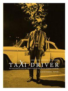 Taxi Driver - movie poster - Adam Juresko