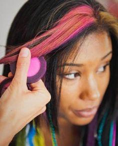 Hair Chalks – Putting the Rainbow in Your Hair