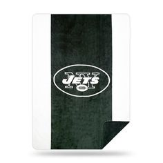 The Northwest Company Jets Multi Color Acrylic Sliver Knit Throw, Multi-Colored Full Comforter Sets, Cable Knit Throw, Warm Blankets, New York Jets, Throw Pillow Cases, Knitted Blankets, Hand Sewing, Wrapping, Luxury
