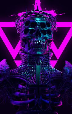 Neon Demon by sick 666mick on ArtStation.