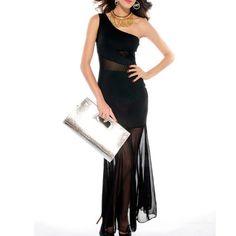 #QUEEN VESTIDO LARGO NOCHE TALLA ÚNICA - #sexshop, lencería y artículos eróticos , divinaslocuras  #Vestido largo 1 tiranta en elegante diseño.  Poliester Talla Única