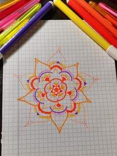 #colorful #flowers #drawing
