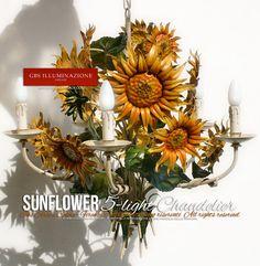 Sunflower Chandelier