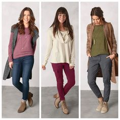 Hey ladies we need your help again! Which of these beautiful Fall Collection outfits would you keep and which would you give to your two BFF's? Pictured Left: Jivani Top Thalia Sweater Vest & London Jean (organic) Center: Ginger Top (organic) & Meme Pant Right: Stacia Sweater (organic) Sabina Duster & Kadri Pant #fall #sustainable #fashion #organic #instafashion #fashionista #fashionblogger via @prAna Instagram. Don't follow us yet? Add us any time by going to: instagram.com/prAna