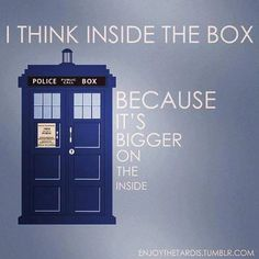Only whovians will understand this... :)