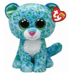 53ea4334cd1 Leona-Blue-Leopard-Beanie-Boo-Stuffed-Animal-by-