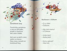 detské básne - Hľadať Googlom Bullet Journal, Reading, Reading Books