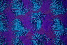 "Shiny Palm Nature Print #230 4 Way Stretch Swimwear Activewear Cosplay Nylon Spandex Lycra Apparel Craft Fabric 58""-60"" Wide By The Yard"