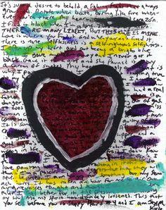 Sloppy Heart No 4 Grievences by josephhkyle on Etsy, $35.00