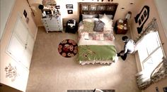 O quarto da Allison Argent em teen wolf