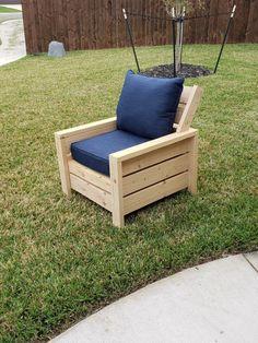 John's Writing - Modern outdoor 2x4 chair with modification - #diy #garden #furn...#2x4 #chair #diy #furn #garden #johns #modern #modification #outdoor #writing Wood Patio Chairs, Wood Patio Furniture, Diy Garden Furniture, Garden Chairs, Furniture Plans, Homemade Outdoor Furniture, Diy Furniture Cheap, Outdoor Deck Decorating, Modern Outdoor Chairs