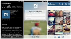 Instagram Available Now on Windows Phone
