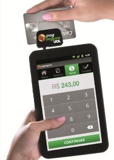 PagSeguro lança ferramenta para pagamentos via celular ou tablet - Globos