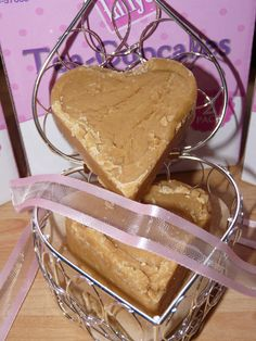"My home-made peanut butter fudge!! Goes down extremely well to the point where it has been nicknamed ""**** fudge"" suffice to say it has been likened to a Harry met Sally moment!!"