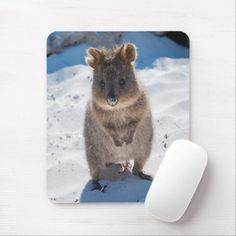 Cute and happy Quokka on the beach vertical Mouse Pad australian possum, australian shepherd funny, australian zoo #australianphotographer #Wildlifeart #WildLifeOneArth, dried orange slices, yule decorations, scandinavian christmas Diy Projects Etsy, School Decorations, Yule Decorations, Quokka, Nature Artists, Nature Artwork, Ipod Cases, Diy Electronics, Animals Of The World
