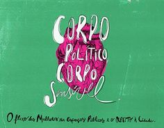 "Check out new work on my @Behance portfolio: ""Corpo Político, Corpo Sensível"" http://be.net/gallery/52998159/Corpo-Politico-Corpo-Sensivel"