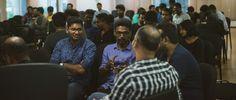 A Portfolio Review event hosted in Chennai by www.behance.net/karthiknraveendiran