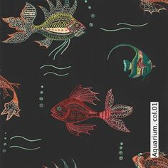 Tapete: Aquarium, col.01 - Die TapetenAgentur