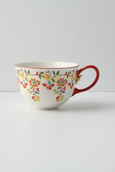 Tasse Cadiz de Anthropologie. Pour siroter un thé par un beau dimanche matin.