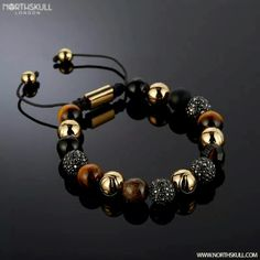 Thsi is very beautiful and fabulous type of bracelet all bead are hand picked by persons and beaded together to make this beautiful looking bracelet. High quality beads are Jewelry Clasps, Diy Jewelry, Beaded Jewelry, Jewelry Bracelets, Handmade Jewelry, Jewelry Making, Jewellery, Gemstone Bracelets, Bracelets For Men