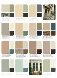 Exterior House Colors Combinations, Exterior Siding Colors, Exterior Paint Schemes, Best Exterior Paint, Paint Color Schemes, Exterior Paint Colors For House, House Color Schemes, Interior Paint Colors, Paint Colors For Home