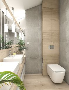Łazienki w domu w Józefowie – OroConcept – pracowania projektowania wnętrz Compact Bathroom, Office Bathroom, Downstairs Bathroom, Bathroom Design Small, Bathroom Interior Design, Flat Ideas, Bathroom Inspiration, Home Renovation, Bathtub