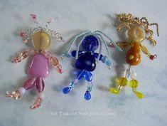 beaded people jewelry - Beaded Ladies | JewelryLessons.com