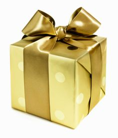 Love beautifully wrapped gifts. They don't have to cost a small fortune to