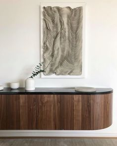 Mind Blowing Useful Tips Natural Home Decor Modern Cupboard + Wall Mounted Console Table + Black Countertops + Walnut Cabinetry Interior Design Business, Interior Design Companies, Interior Design Studio, Home Design, Home Decor Items, Home Decor Accessories, Cheap Home Decor, Home Decor Bedroom, Entryway Decor